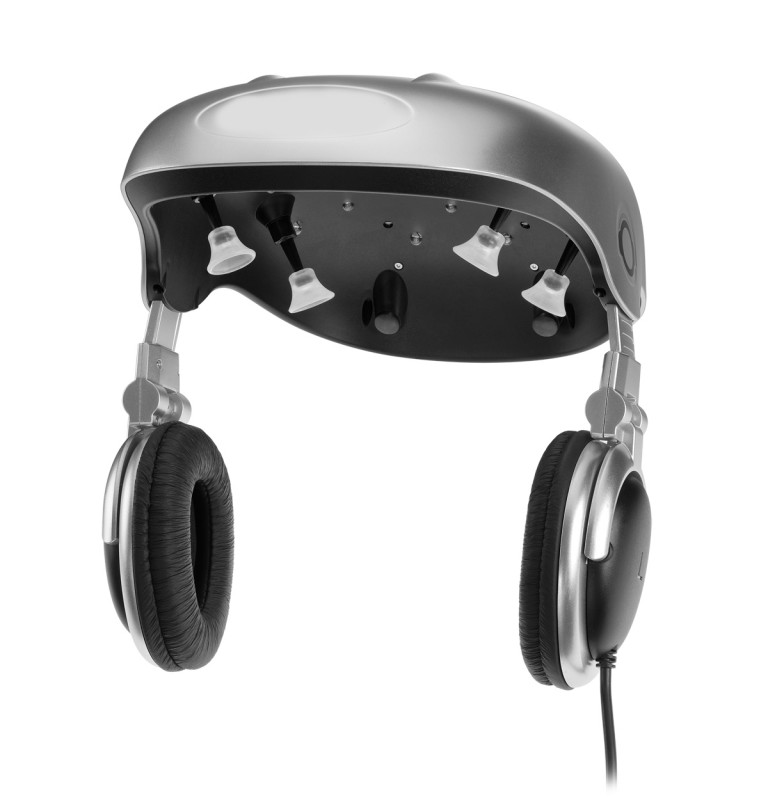 casque led repousse cheveu